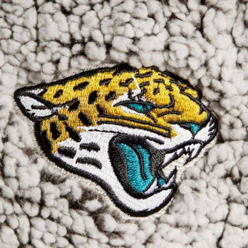 G-III 4HER BY CARL BANKS ジャクソンビル ジャガース レディース 灰色 グレー グレイ 【 Jacksonville Jaguars Womens Sherpa Quarter-zip Pullover Jacket - Gray 】 Gray