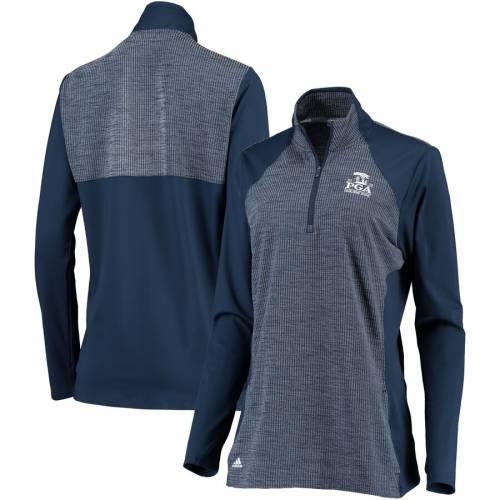 アディダス ADIDAS レディース ニット 青 ブルー 【 2020 Pga Championship Womens Half-zip Knit Pullover Jacket - Light Blue 】 Navy
