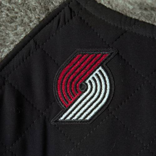 GAMEDAY COUTURE ポートランド レディース 黒 ブラック 【 Portland Trail Blazers Womens Sidenote Quilted Snap-up Pullover Jacket - Black 】 Black