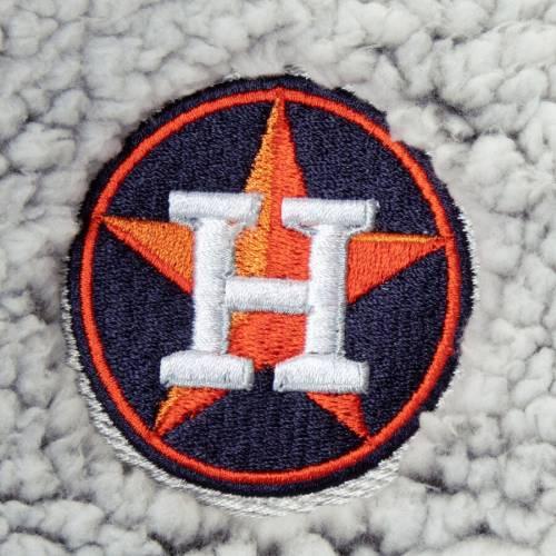 G-III 4HER BY CARL BANKS ヒューストン アストロズ レディース 灰色 グレー グレイ 【 Houston Astros Womens Sherpa Quarter-zip Pullover Jacket - Gray 】 Gray
