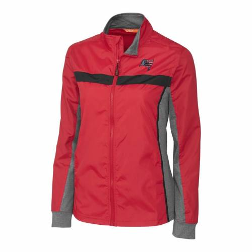 CUTTER & BUCK バッカニアーズ レディース 赤 レッド 【 Tampa Bay Buccaneers Cutter And Buck Womens Americana Swish Full-zip Jacket - Red 】 Red