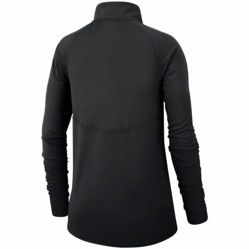 ナイキ NIKE ピッツバーグ スティーラーズ レディース ラグラン パフォーマンス コア 黒 ブラック 【 Pittsburgh Steelers Womens Raglan Performance Half-zip Core Jacket - Black 】 Black