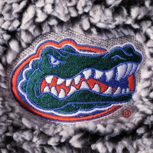 BOXERCRAFT フロリダ レディース 灰色 グレー グレイ 【 Florida Gators Womens Sherpa Super Soft Quarter-zip Pullover Jacket - Gray 】 Gray