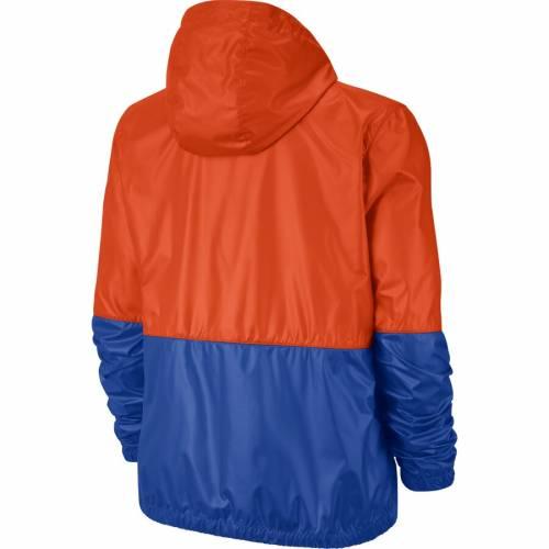 ナイキ NIKE フロリダ レディース 【 Florida Gators Womens Anorak Half-zip Jacket - Orange/royal 】 Orange/royal