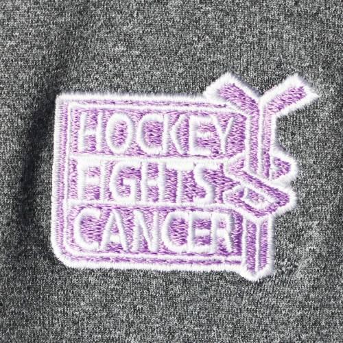 LEVELWEAR レディース チャコール 【 Nhl Womens Hockey Fights Cancer Beam Full-zip Jacket - Heathered Charcoal 】 Heathered Charcoal