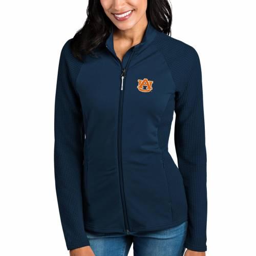 ANTIGUA タイガース レディース 紺 ネイビー 【 Auburn Tigers Womens Sonar Full-zip Jacket - Navy 】 Navy