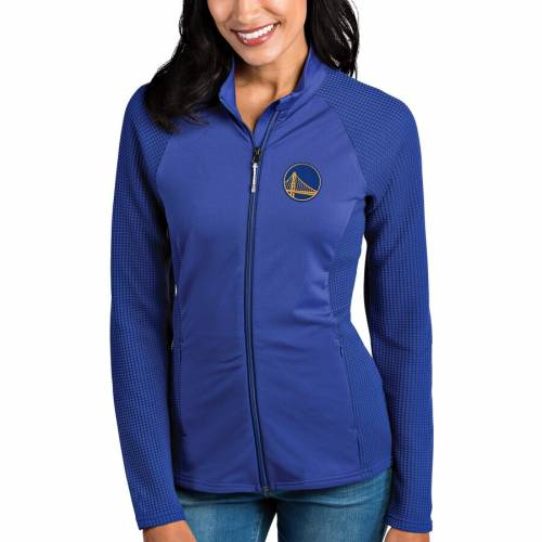 ANTIGUA スケートボード ウォリアーズ レディース 【 Golden State Warriors Womens Sonar Full-zip Jacket - Royal 】 Royal