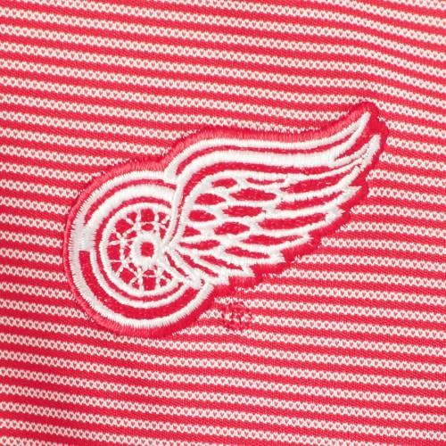 LEVELWEAR デトロイト 赤 レッド オリオン ラグラン メンズファッション コート ジャケット メンズ 【 Detroit Red Wings Orion Quarter-zip Raglan Pullover Jacket - Red/white 】 Red/white