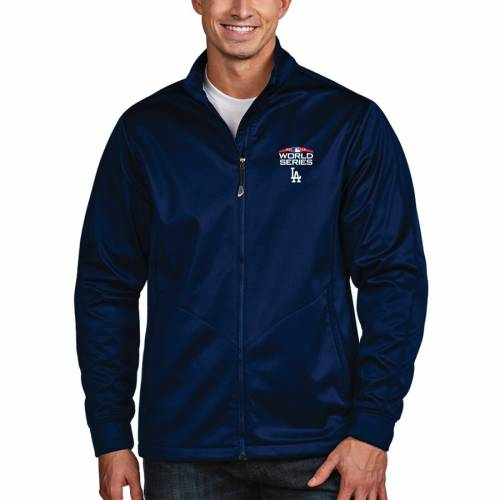 ANTIGUA ドジャース シリーズ ゴルフ メンズファッション コート ジャケット メンズ 【 Los Angeles Dodgers 2018 World Series Bound Full-zip Golf Jacket - Royal 】 Royal