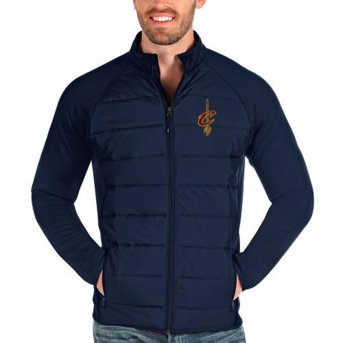 ANTIGUA クリーブランド キャバリアーズ 紺 ネイビー メンズファッション コート ジャケット メンズ 【 Cleveland Cavaliers Altitude Full-zip Jacket - Navy 】 Navy