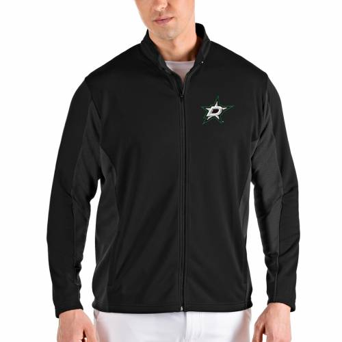 ANTIGUA ダラス メンズファッション コート ジャケット メンズ 【 Dallas Stars Passage Full-zip Jacket - Black/gray 】 Black/gray