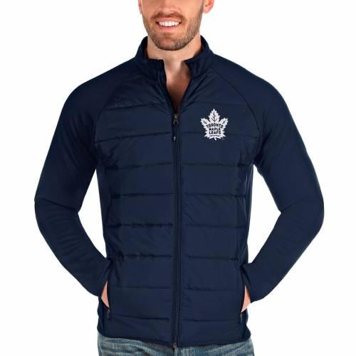 ANTIGUA トロント 紺 ネイビー メンズファッション コート ジャケット メンズ 【 Toronto Maple Leafs Altitude Full-zip Jacket - Navy 】 Navy