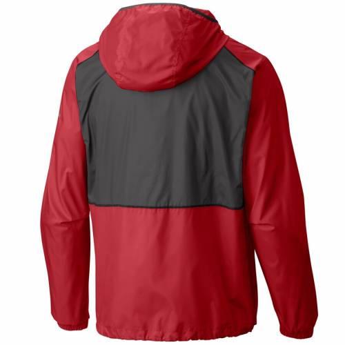 コロンビア COLUMBIA ワシントン ナショナルズ ウィンドブレーカー 赤 レッド メンズファッション コート ジャケット メンズ 【 Washington Nationals Flash Forward Full-zip Windbreaker Jacket - Red 】 Red