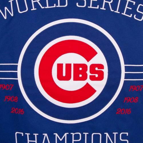 JH DESIGN シカゴ カブス リバーシブル メンズファッション コート ジャケット メンズ 【 Chicago Cubs Reversible Poly-twill Hooded Jacket - Royal 】 Royal
