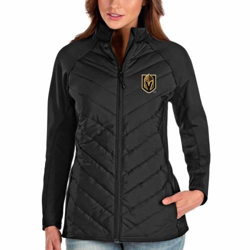 ANTIGUA レディース 黒 ブラック 【 Vegas Golden Knights Womens Altitude Full-zip Jacket - Black 】 Black
