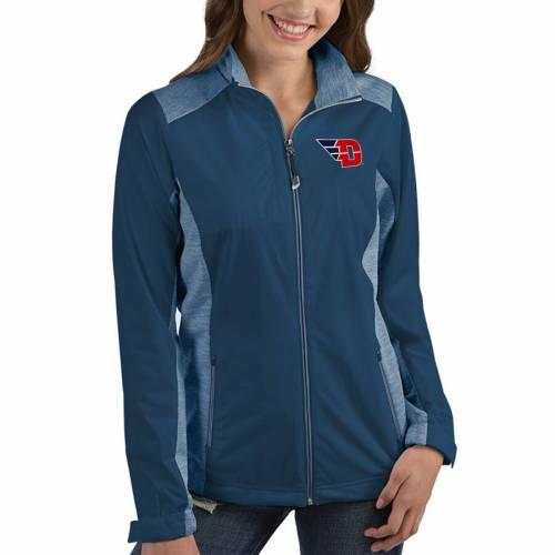 ANTIGUA デイトン レディース 紺 ネイビー 【 Dayton Flyers Womens Revolve Full-zip Jacket - Navy 】 Navy