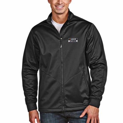 ANTIGUA シリーズ ゴルフ 黒 ブラック メンズファッション コート ジャケット メンズ 【 2020 Nascar Cup Series Full-zip Golf Jacket - Black 】 Black