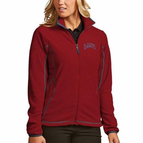 【スーパーセール中! 6/11深夜2時迄】ANTIGUA ライオンズ レディース 【 Loyola Marymount Lions Womens Ice Full-zip Jacket 】 Cardinal