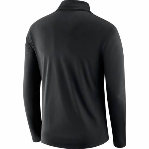 ナイキ NIKE コア パフォーマンス 黒 ブラック メンズファッション コート ジャケット メンズ 【 Purdue Boilermakers Core Additions Half-zip Performance Pullover Jacket - Black 】 Black
