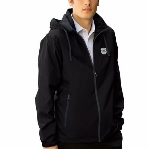VANTAGE APPAREL バトラー クラブ メンズファッション コート ジャケット メンズ 【 Butler Bulldogs Club Full-zip Hooded Jacket - Black/charcoal 】 Black/charcoal
