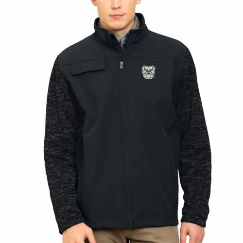 VANTAGE APPAREL バトラー 黒 ブラック メンズファッション コート ジャケット メンズ 【 Butler Bulldogs Soho Full-zip Jacket - Black 】 Black