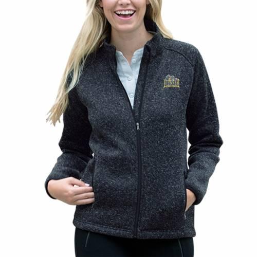 VANTAGE APPAREL レディース フリース ヘザー 灰色 グレー グレイ 【 Drexel Dragons Womens Summit Fleece Sweater Full-zip Jacket - Heather Gray 】 Heather Navy