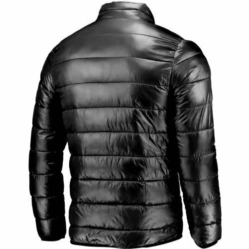 FANATICS BRANDED カンザス シティ ロイヤルズ チーム 黒 ブラック メンズファッション コート ジャケット メンズ 【 Kansas City Royals Team Full-zip Puffer Jacket - Black 】 Black
