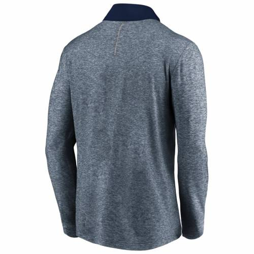 FANATICS BRANDED ヤンキース 紺 ネイビー メンズファッション コート ジャケット メンズ 【 New York Yankees Iconic Marble Clutch Half-zip Jacket - Navy 】 Navy