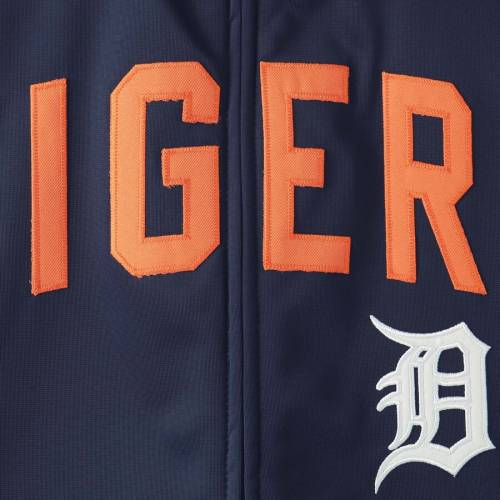 G-III SPORTS BY CARL BANKS デトロイト タイガース トラック 紺 ネイビー メンズファッション コート ジャケット メンズ 【 Detroit Tigers Post Up Full-zip Track Jacket - Navy 】 Navy