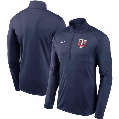 ナイキ NIKE ミネソタ ツインズ チーム ロゴ エレメント パフォーマンス 紺 ネイビー メンズファッション コート ジャケット メンズ 【 Minnesota Twins Team Logo Element Performance Half-zip Pullover Jac