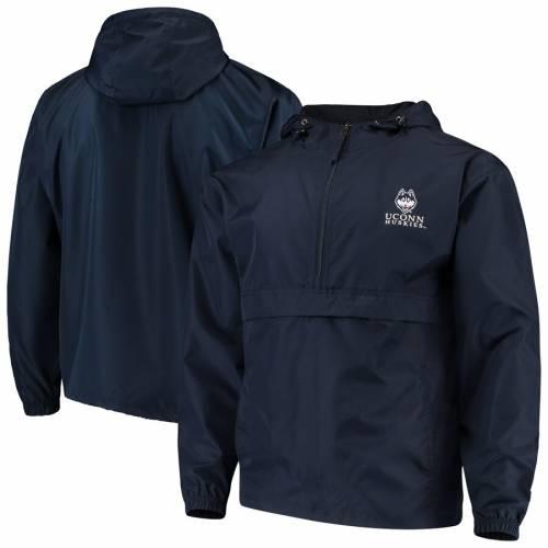チャンピオン CHAMPION コネチカット 紺 ネイビー メンズファッション コート ジャケット メンズ 【 Uconn Huskies Packable Jacket - Navy 】 Navy