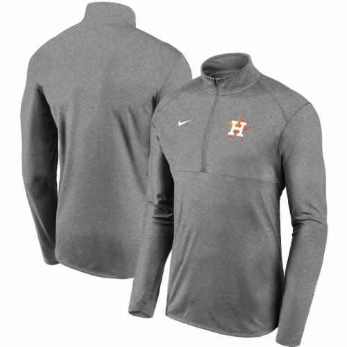 ナイキ NIKE ヒューストン アストロズ チーム ロゴ エレメント パフォーマンス 灰色 グレー グレイ メンズファッション コート ジャケット メンズ 【 Houston Astros Team Logo Element Performance Hal