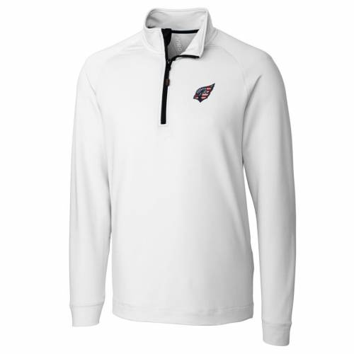 CUTTER & BUCK アリゾナ カーディナルス ニット 赤 レッド メンズファッション コート ジャケット メンズ 【 Arizona Cardinals Cutter And Buck Americana Jackson Knit Quarter-zip Pullover Jacket - Red 】 White