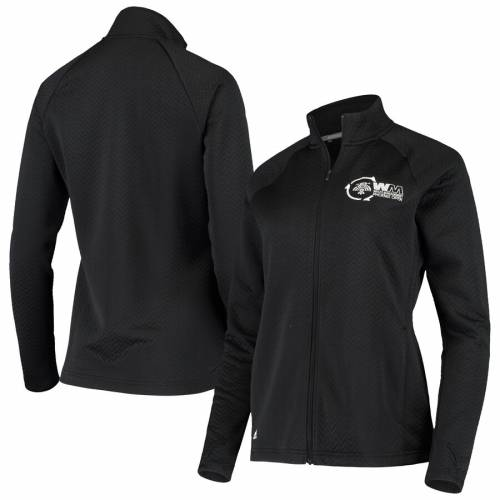 アディダス ADIDAS フェニックス レディース 黒 ブラック 【 Waste Management Phoenix Open Womens Textured Full-zip Jacket - Black 】 Black