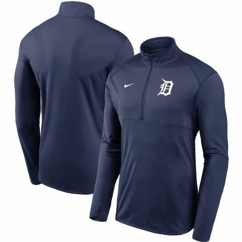 ナイキ NIKE デトロイト タイガース チーム ロゴ エレメント パフォーマンス 紺 ネイビー メンズファッション コート ジャケット メンズ 【 Detroit Tigers Team Logo Element Performance Half-zip Pullove