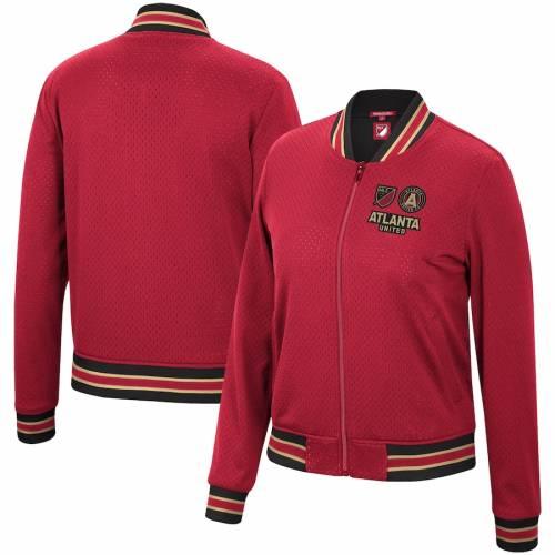 【スーパーセール中! 6/11深夜2時迄】ミッチェル&ネス MITCHELL & NESS アトランタ レディース 赤 レッド 【 Atlanta United Fc Mitchell And Ness Womens Full-zip Jacket - Red 】 Red