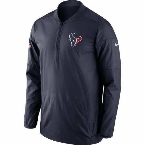 ナイキ NIKE ヒューストン テキサンズ サイドライン パフォーマンス 紺 ネイビー メンズファッション コート ジャケット メンズ 【 Houston Texans Sideline Performance Jacket - Navy 】 Navy