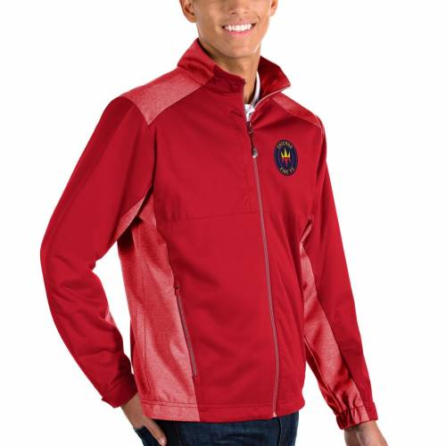 ANTIGUA シカゴ 青 ブルー メンズファッション コート ジャケット メンズ 【 Chicago Fire Revolve Full-zip Jacket - Blue 】 Red