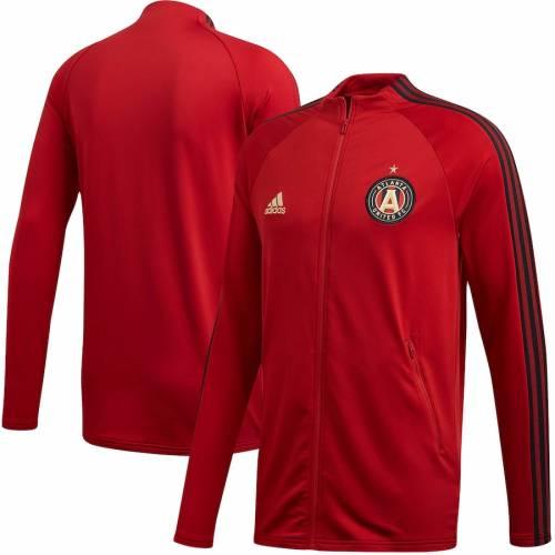 アディダス ADIDAS アトランタ 赤 レッド メンズファッション コート ジャケット メンズ 【 Atlanta United Fc 2020 On-field Anthem Full-zip Jacket - Red 】 Red