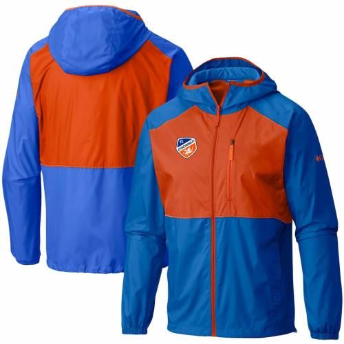 コロンビア COLUMBIA シンシナティ ウィンドブレーカー 青 ブルー メンズファッション コート ジャケット メンズ 【 Fc Cincinnati Flash Forward Windbreaker Jacket - Blue 】 Blue