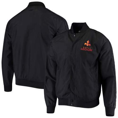 OUTERSTUFF オーセンティック 黒 ブラック メンズファッション コート ジャケット メンズ 【 Paris Legion Authentic Full-snap Jacket - Black 】 Black