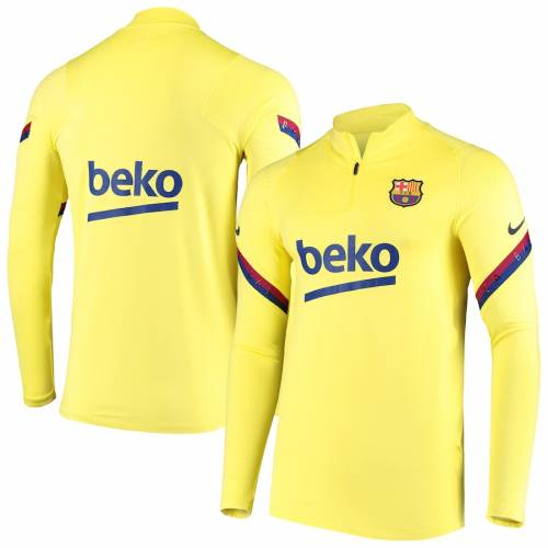 ナイキ NIKE ストライク ラグラン メンズファッション コート ジャケット メンズ 【 Barcelona Strike Drill Raglan Quarter-zip Pullover Jacket - Gold 】 Gold