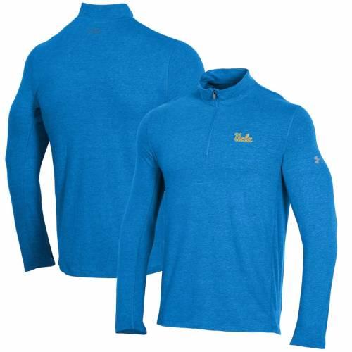 アンダーアーマー UNDER ARMOUR パフォーマンス 青 ブルー メンズファッション コート ジャケット メンズ 【 Ucla Bruins Performance Quarter-zip Jacket - Blue 】 Blue