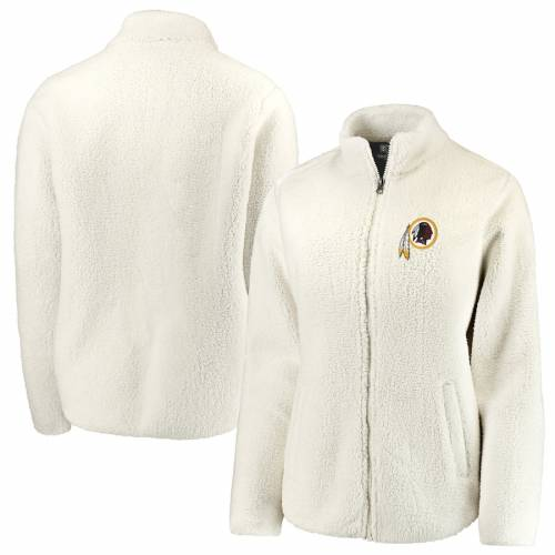 NFL PRO LINE BY FANATICS BRANDED ワシントン レッドスキンズ レディース クリーム 【 Washington Redskins Womens Sherpa Full-zip Jacket - Cream 】 Cream