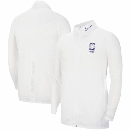 ナイキ NIKE チーム アカデミー 白 ホワイト メンズファッション コート ジャケット メンズ 【 South Korea National Team Academy Full-zip Jacket - White 】 White