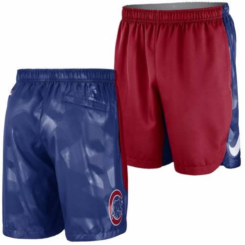 ナイキ NIKE シカゴ カブス オーセンティック コレクション チーム ロゴ パフォーマンス ショーツ ハーフパンツ 赤 レッド メンズファッション ズボン パンツ メンズ 【 Chicago Cubs Authentic