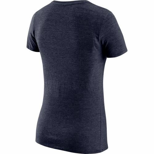 ナイキ NIKE ユタ ジャズ レディース ロゴ パフォーマンス Vネック Tシャツ 紺色 ネイビー WOMEN'S 【 NIKE WORDMARK LOGO SLUB PERFORMANCE VNECK TSHIRT NAVY 】 レディースファッション トップス Tシャツ