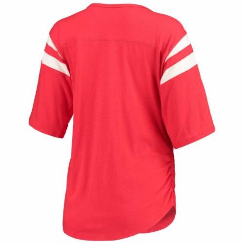 TOUCH BY ALYSSA MILANO タッチ レディース Tシャツ 赤 レッド WOMEN'SRED TOUCHyOn0vmN8w