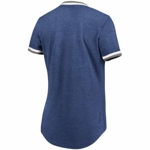 マジェスティック MAJESTIC ヤンキース レディース Tシャツ 紺 ネイビー レディースファッション トップス カットソー 【 New York Yankees Womens Driven By Results T-shirt - Navy 】 Navy