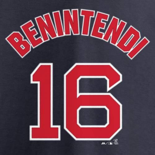 マジェスティック MAJESTIC ボストン 赤 レッド レディース シリーズ ブイネック Tシャツ 紺 ネイビー レディースファッション トップス カットソー 【 Andrew Benintendi Boston Red Sox Womens 2018 Wo